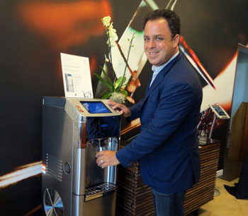 Hotel Indigo Shows Off Santa Barbara Area's First 'Air Water' Dispenser